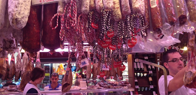 butcher meat in madrid spain