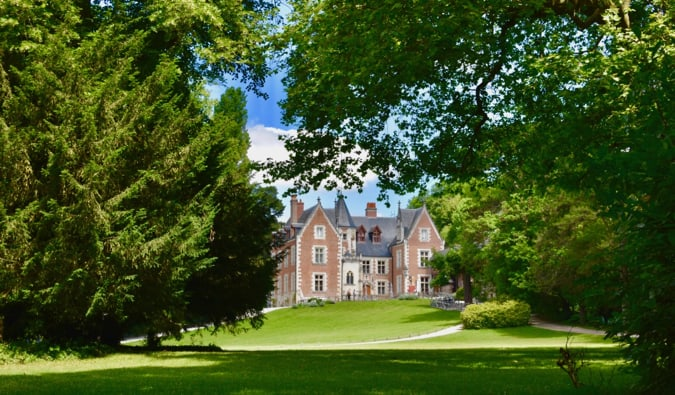 The famous and historic Clos Luce castle in France