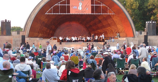 hatch shell concert