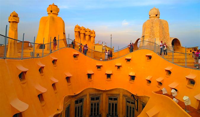 Antoni Gaudi's Casa Mila