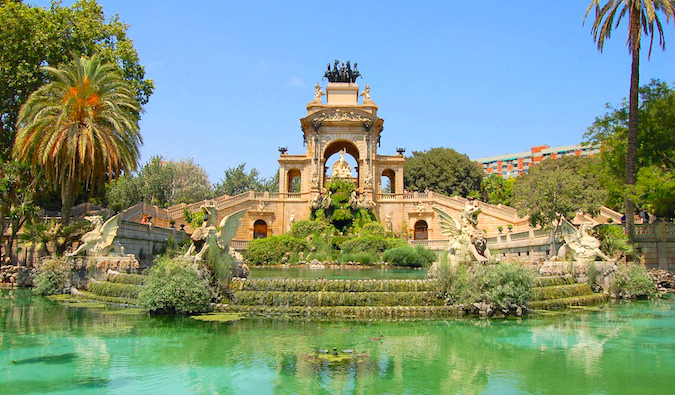 Cascada Fountain in Parc de la Ciutadella