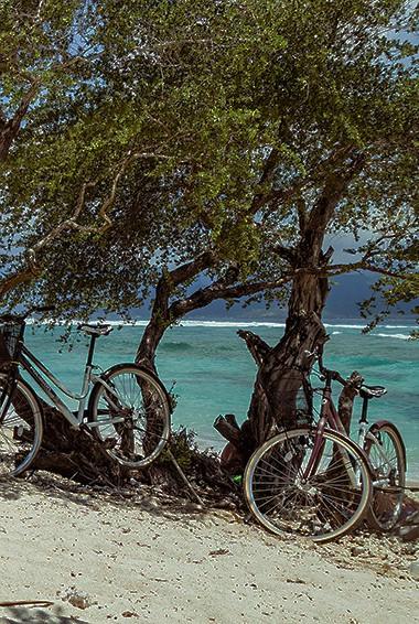 biking the Gili Islands