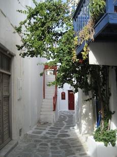 Greece has beautiful architecture
