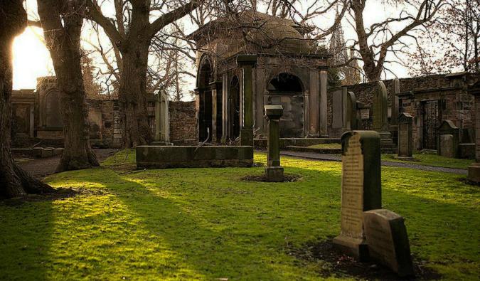 edinburgh scotland graveyard