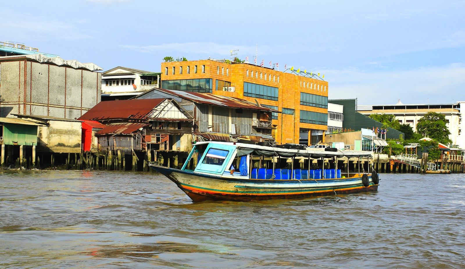 Boat in Bangkok