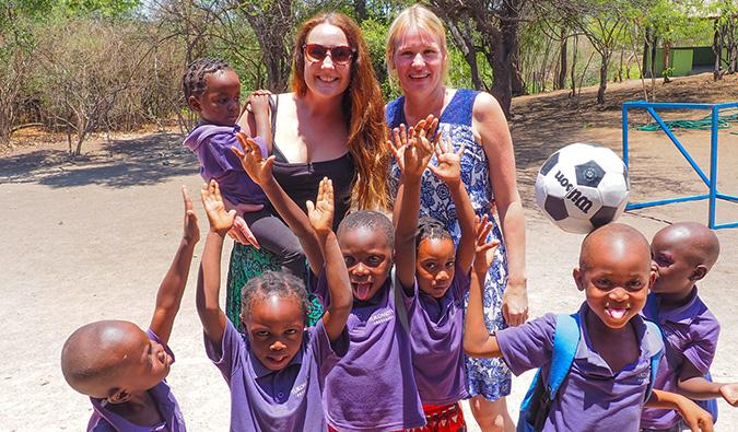 volunteering in africa