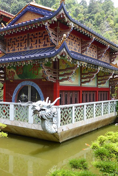 Sam Poh Temple in the Cameron Highlands