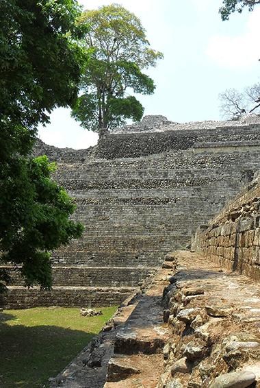 The Copan Ruins in Honduras, Central America