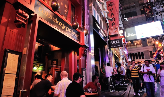 Nightlife and bars in Hong Kong