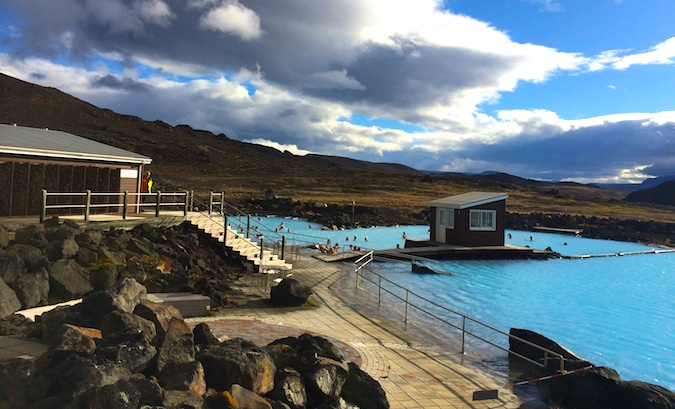 Myvatn Nature Baths like the blue lagoon in Iceland