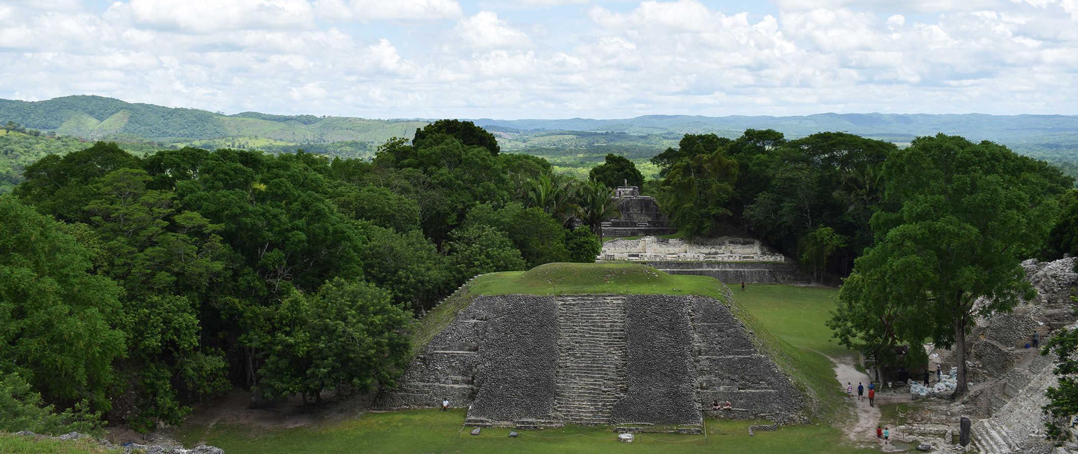 ruins in San Ignacio, Belize