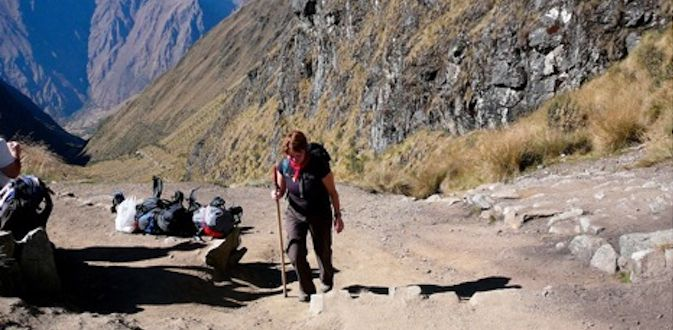 the inca trail steps