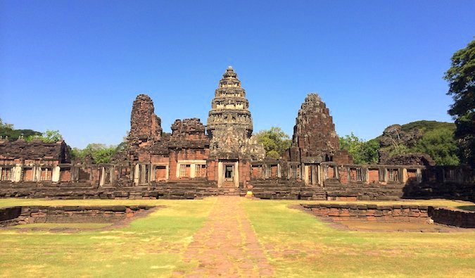 Ruins at Phimai in Thailand