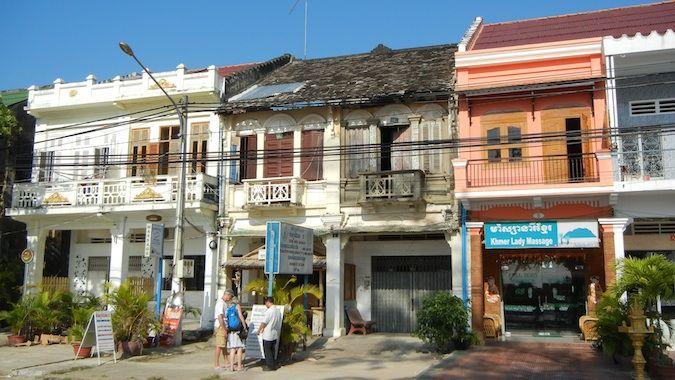 kampot cambodia promenade