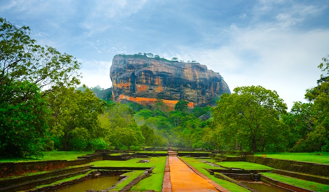 Visiting Sigiriya Rock Fortress in Sri Lanka