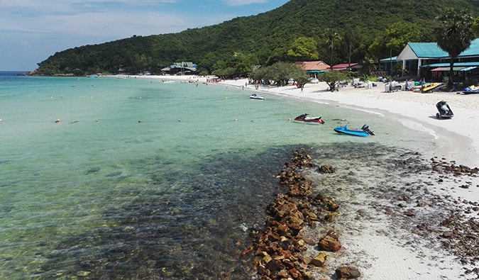 a beach on Ko Phangan