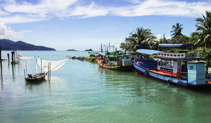 homes in Ko Chang