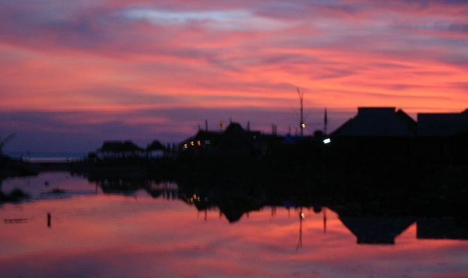 Sunset in ko lanta