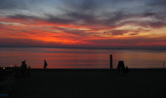 another beautiful sunset in ko lanta