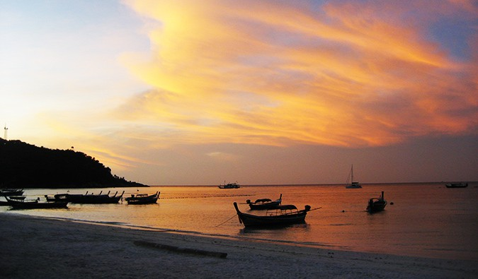 sunset in Ko Lipe
