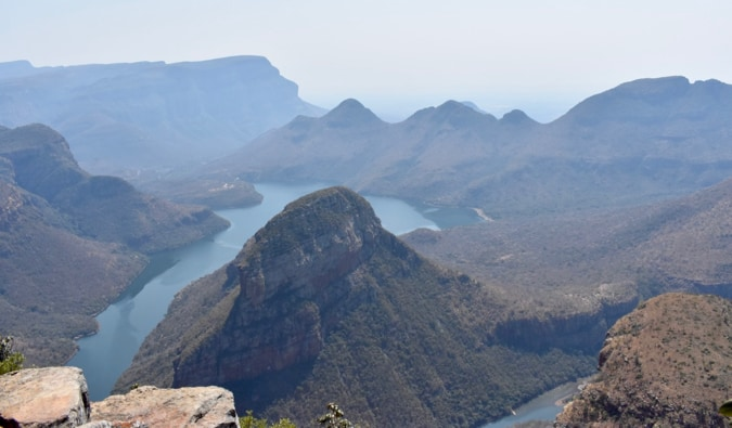 Blyde River Canyon in South Africa.