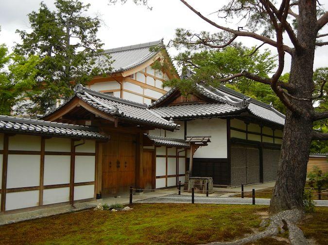 Kinkaku-ji temple entrance, kyoto japan