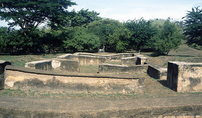 the ruins of leon viejo in nicaragua