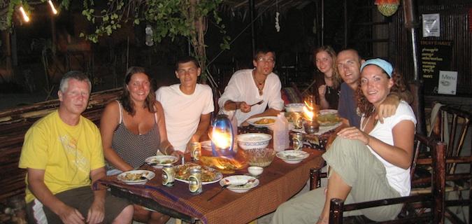 group dinner in ko lipe