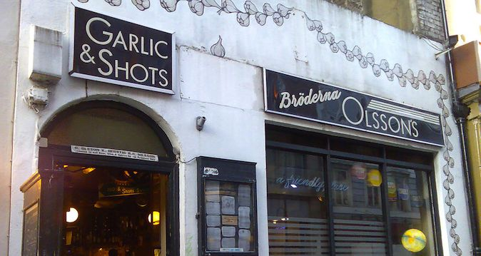 Garlic and Shots london england