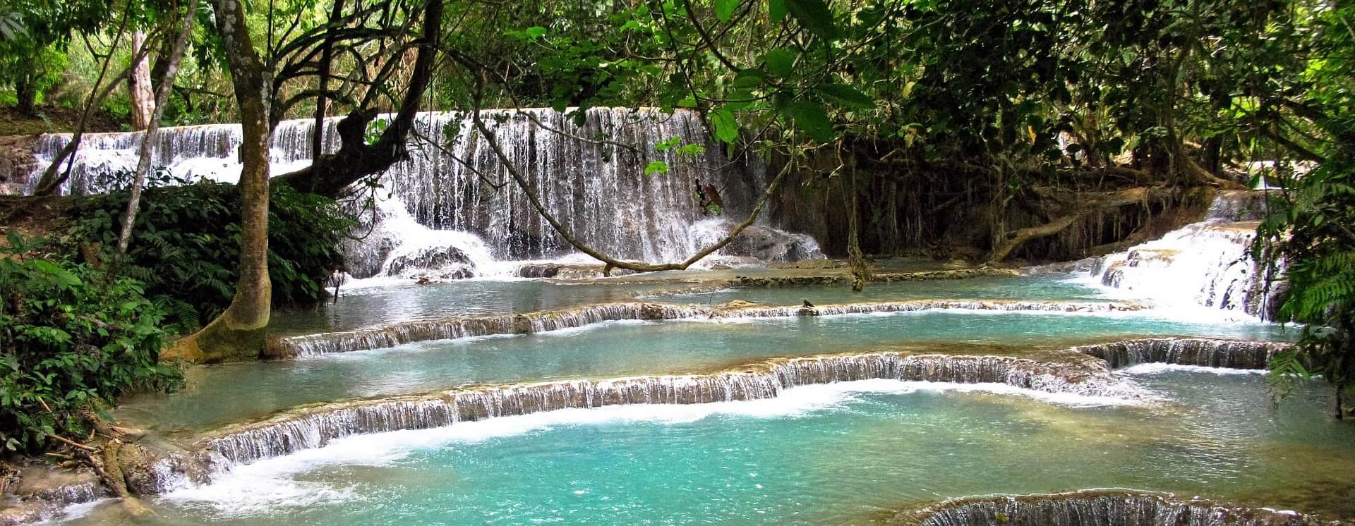 Watersfalls near Luang Prabang