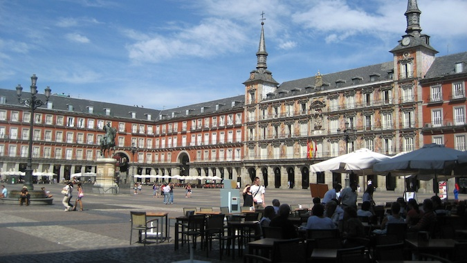 Madrid main square