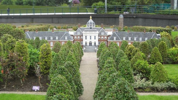 Miniature Dutch castle