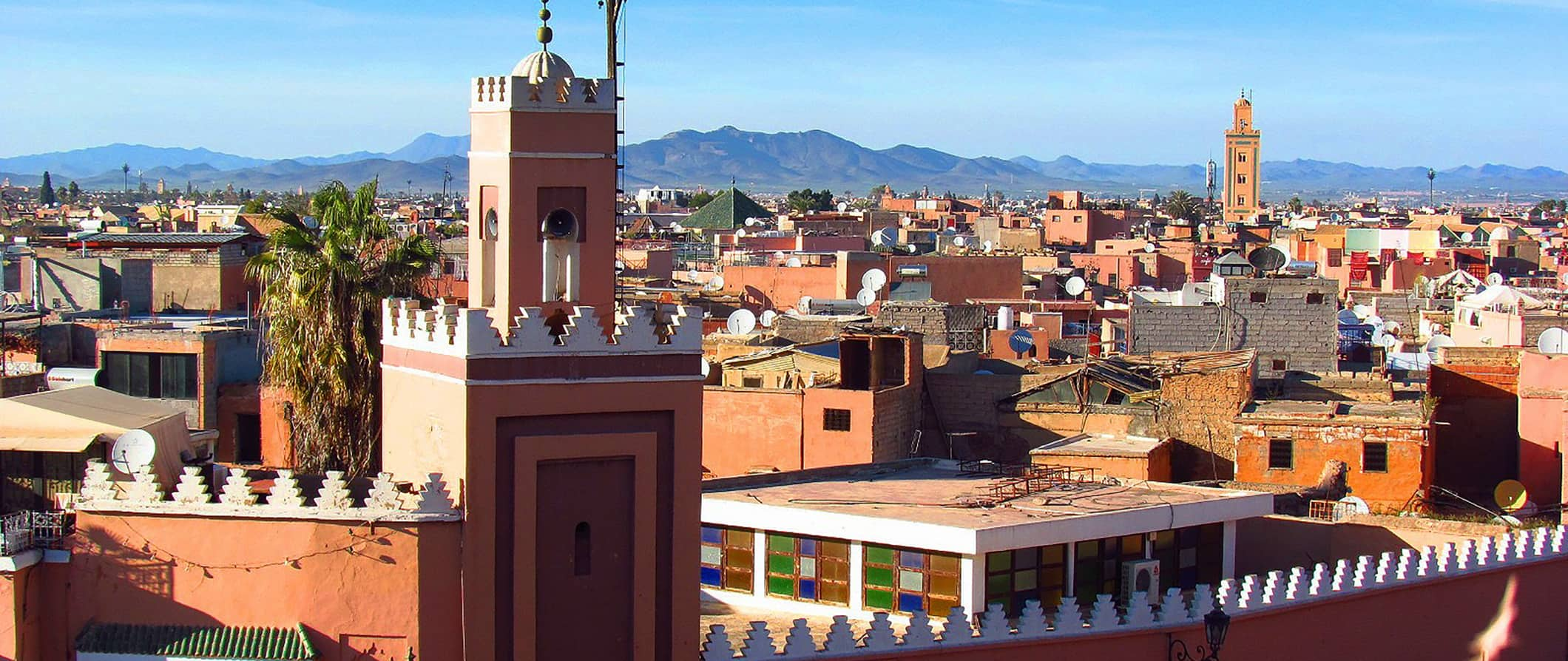 city view of Marrakesh, Morocco