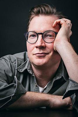 portrait of Mark Adams, author