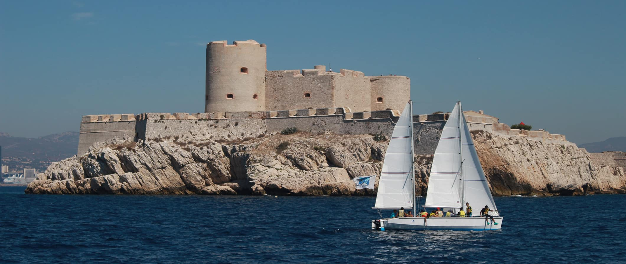 a fortress in Marseille