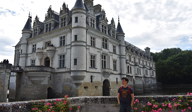 Matt in the Loire Valley