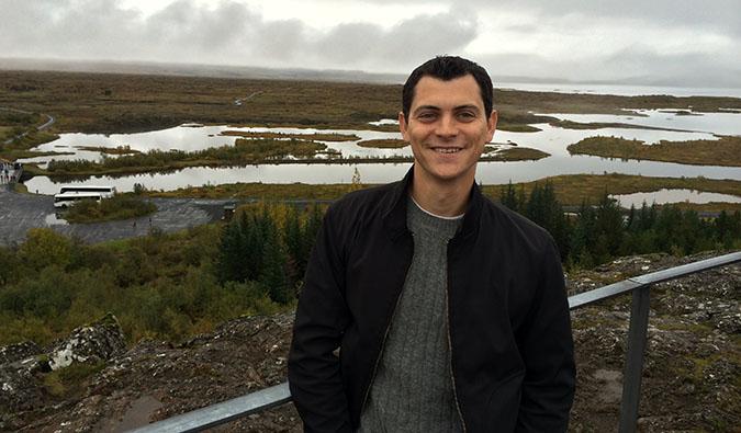 Matt in Patagonia