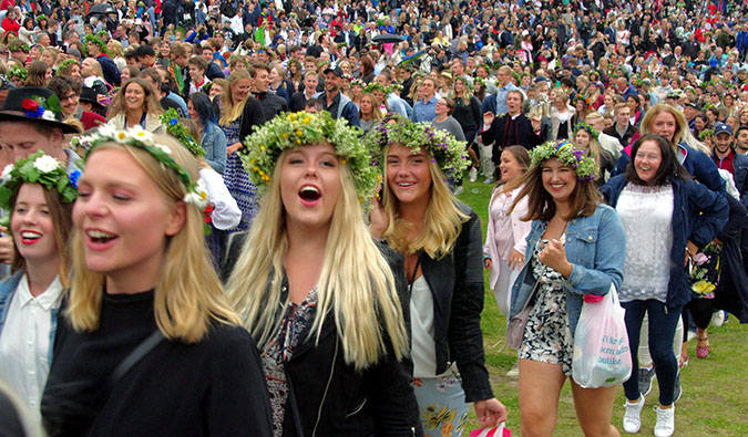 celebrating the midsummer