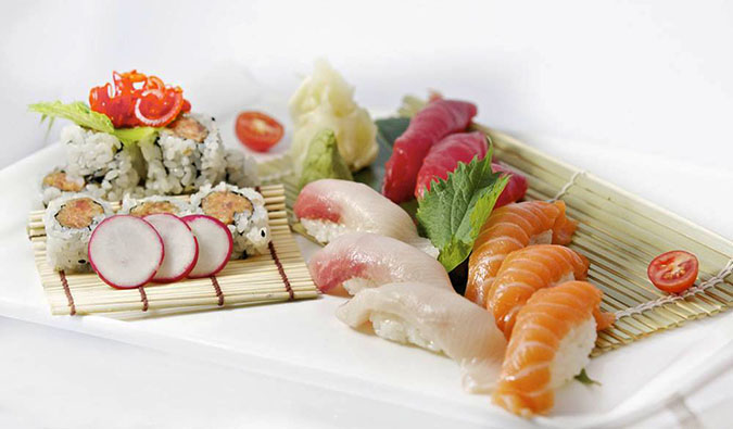 Mizu Sushi is a great place to eat in NYC