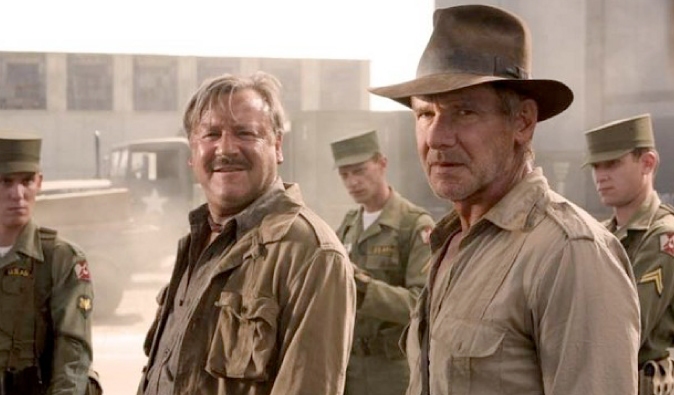 Harrison Ford playing Indiana Jones in this classic travel film