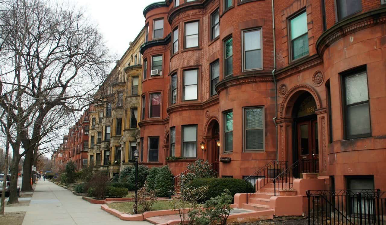 Beautiful Boston row homes