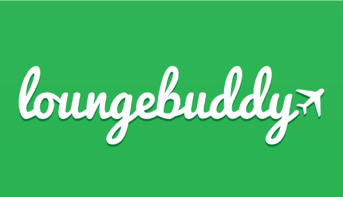 Loungebuddy logo for the travel app