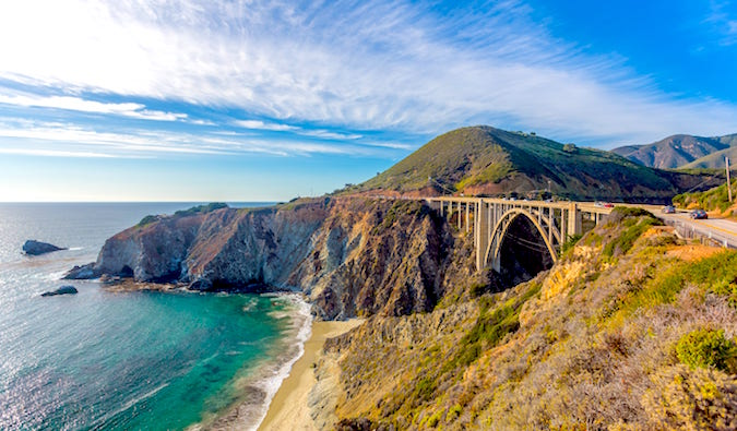 Pacific Coast Highway California by Laurence Norah