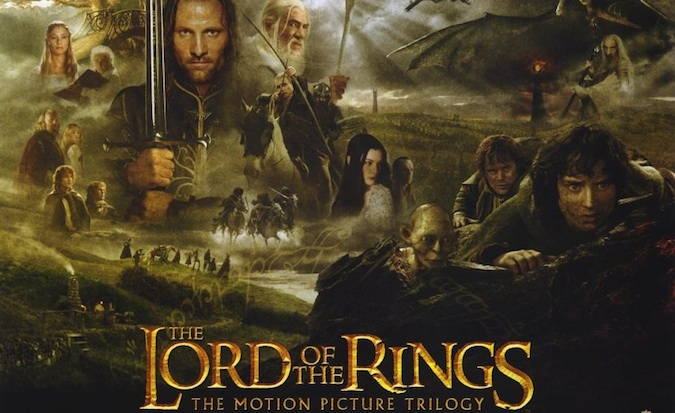 The Lord of the Rings official movie cover