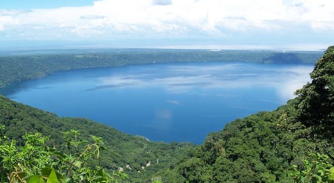lake apoyo in Nicaragua