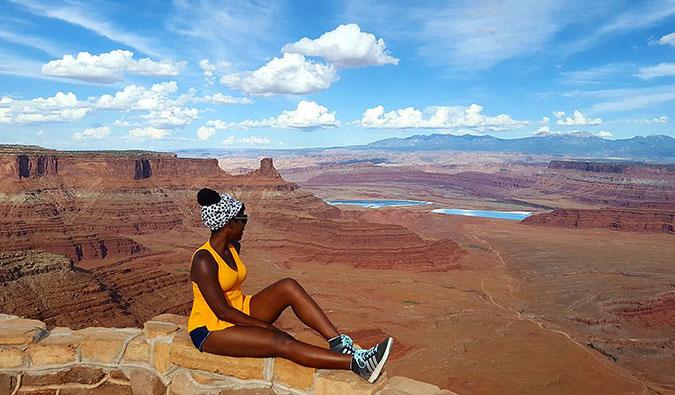 oneika at the grand canyon