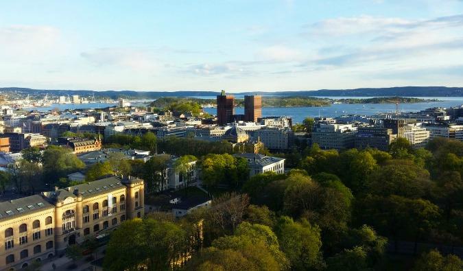 Oslo, Noway skyline