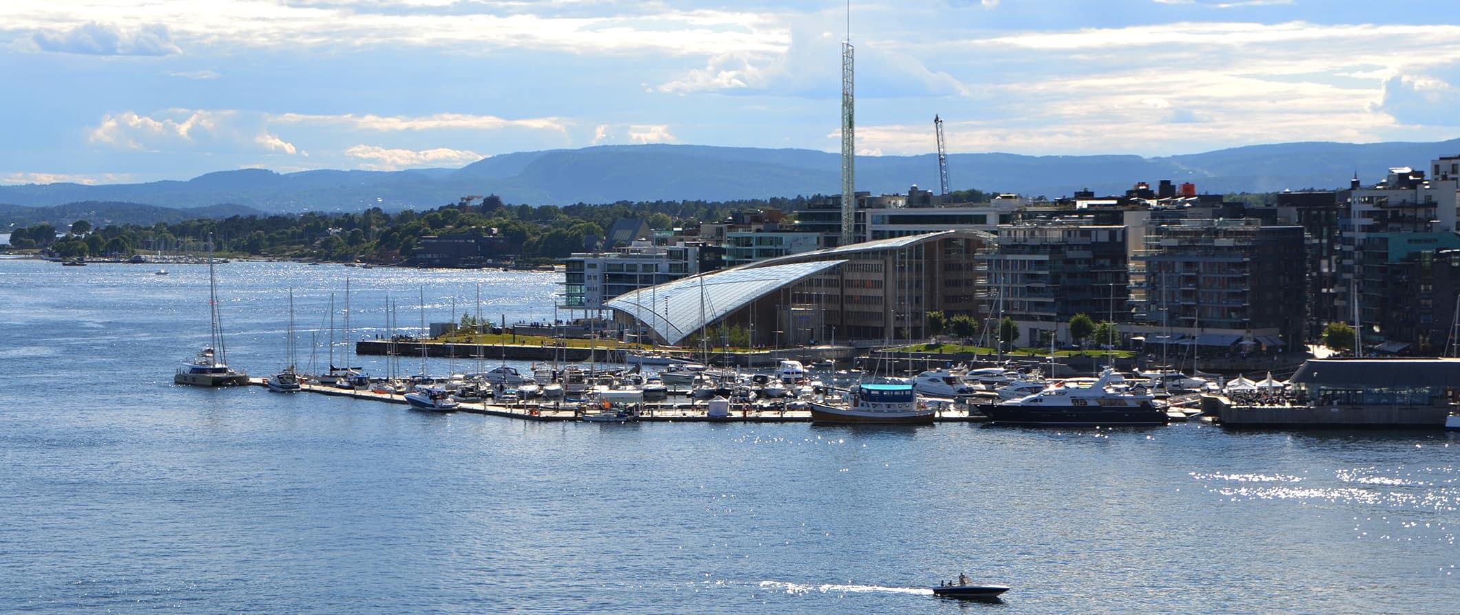 Oslo's skyline