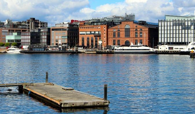 Cruising in Oslo Harbor