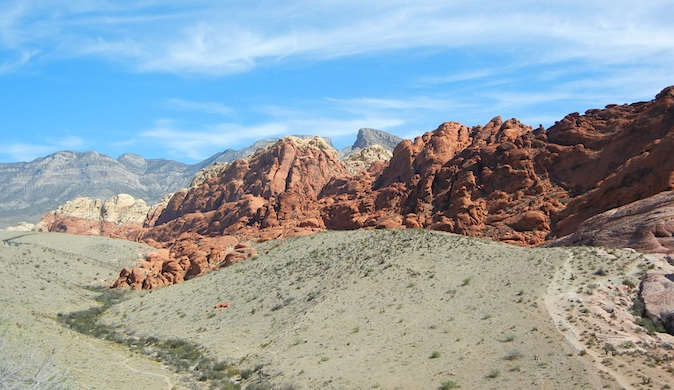 The vast beauty if Red Rock Canyon, Nevada